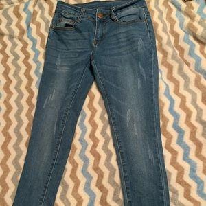 Fashion nova/UWJ mid rise skinny jeans